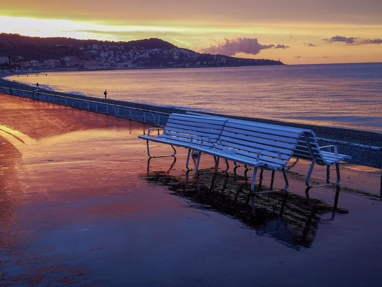 Nicea co zwiedzić i zobaczyć w nicei zwiedzanie Nicei aleja anglików wschód słońca weekend blog klimatyczne