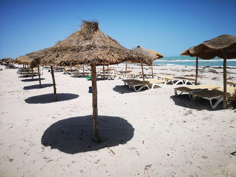 Flamingo Island parasole djerba tunezja plaża