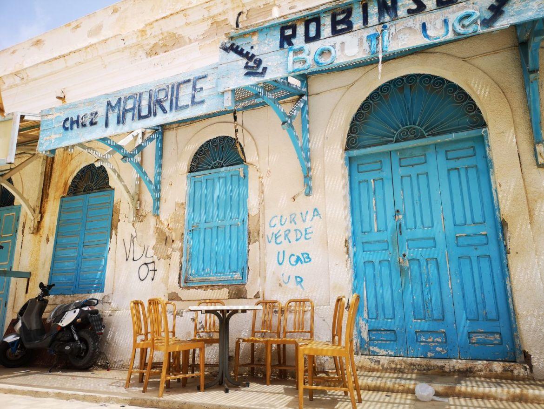 Houmt Suk stolica Djerba Tunezja centrum