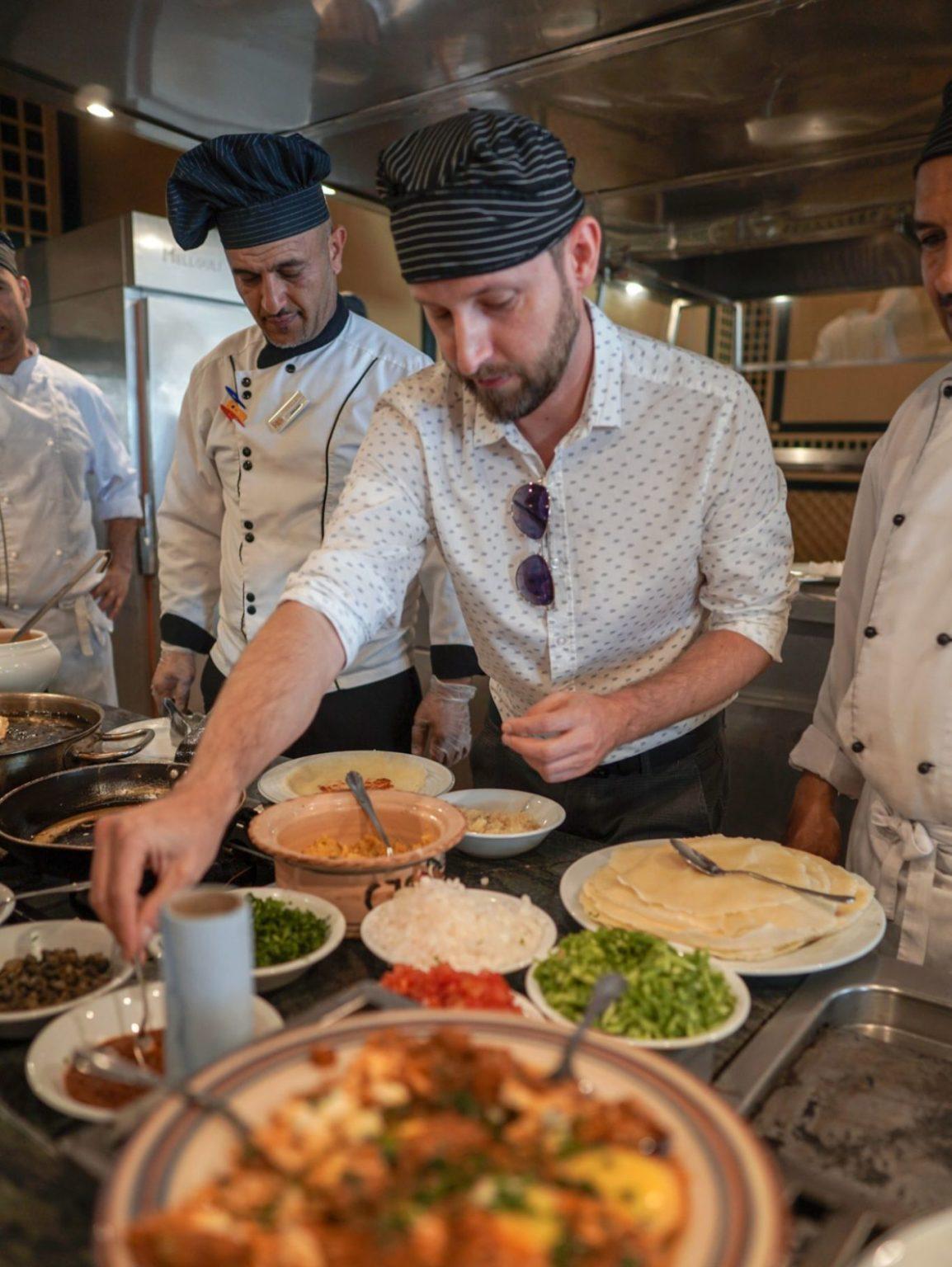 Kurs gotowania lekcje gotowania cooking class djerba kuchnia tunezja