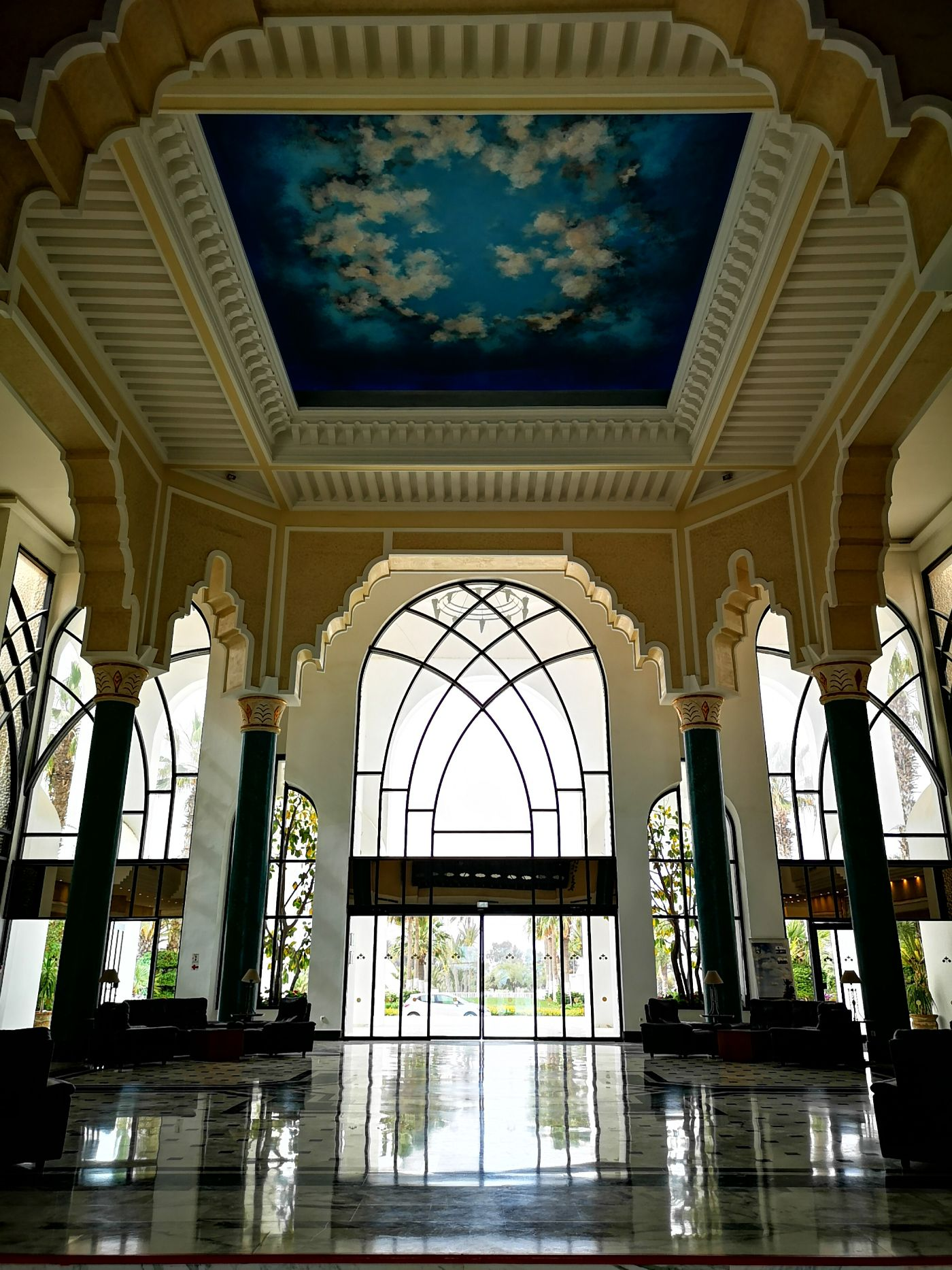 Royal Garden Palace djerba lobby