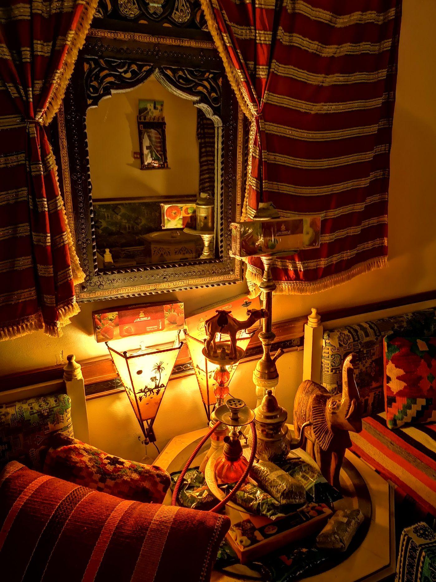 Royal Palace Hotel Djerba shisha lounge