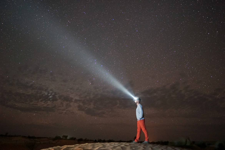 pustynia niebo noc tunezja