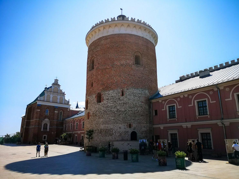 donżon zamek lubelski wieża zamkowa