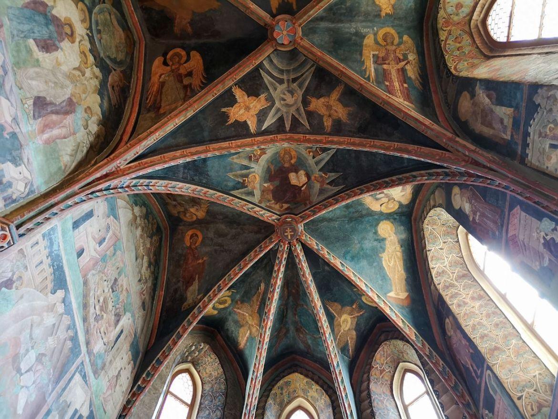 kaplica trójcy świętej w lublinie freski wnętrze kaplicy sklepienie