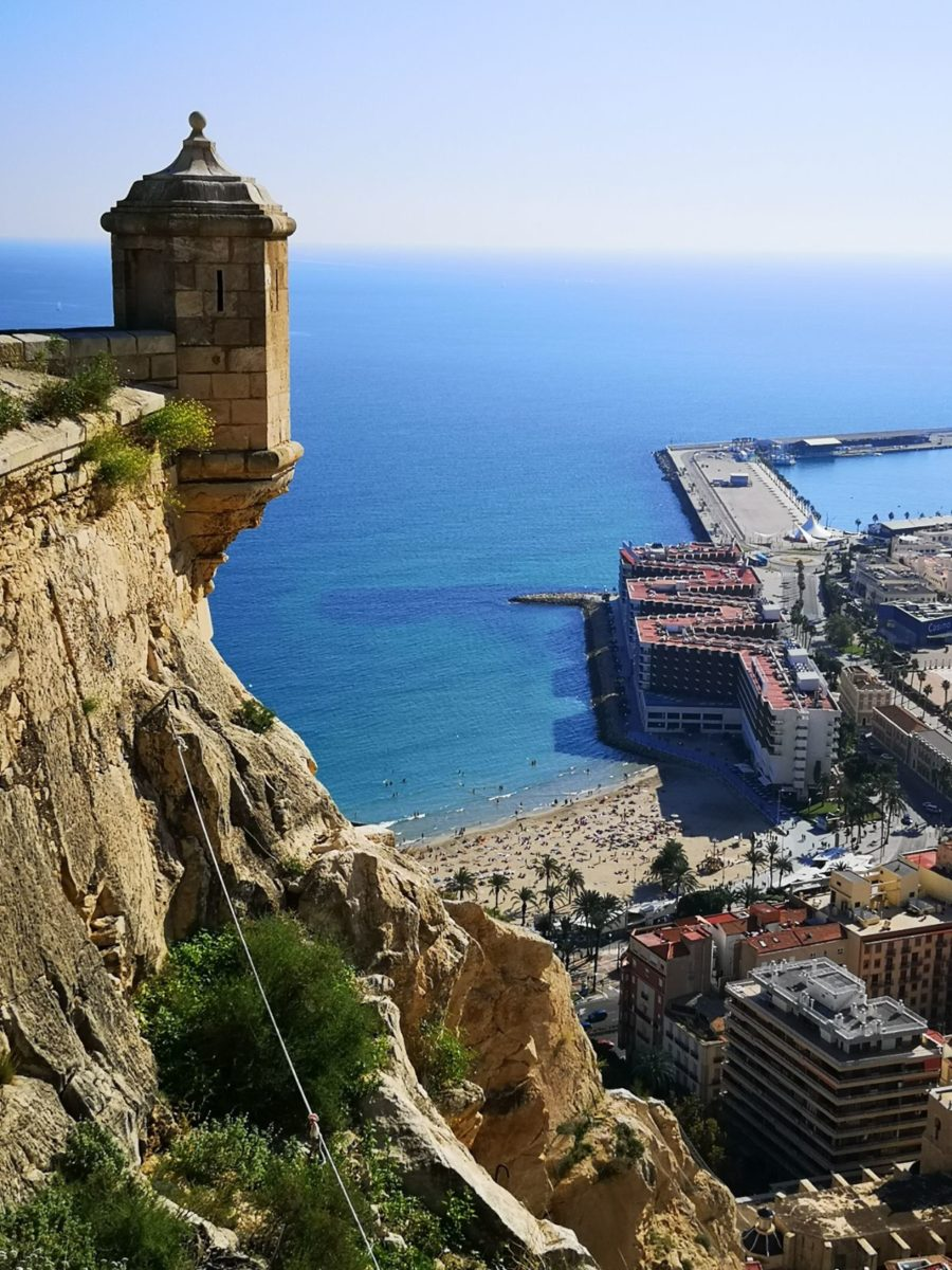 Castillo de Santa Bárbara zamek świętej barbary katania co zwiedzić katania