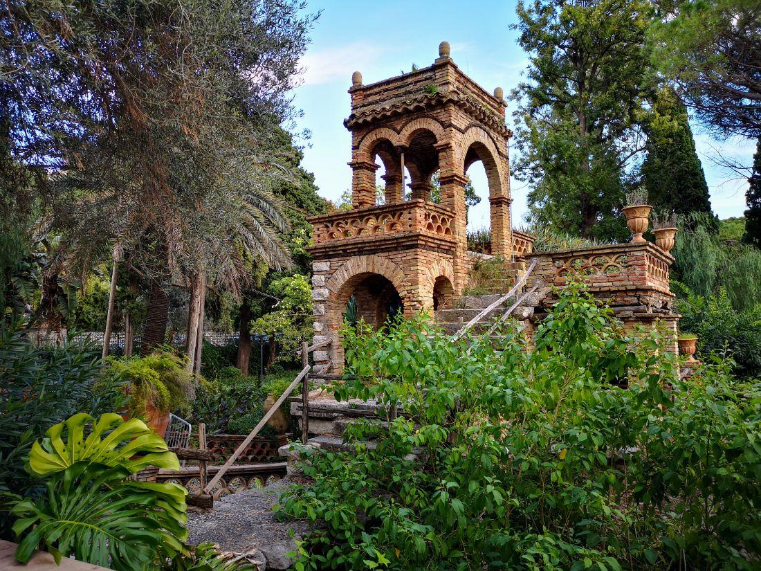 Villa Comunale Di Taormina park