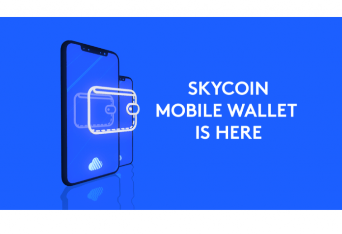 Skycoin Blockchain Project Launch Android Mobile Wallet