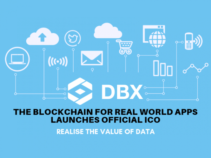 DBX - The Blockchain For Real World Apps Launches Official ICO