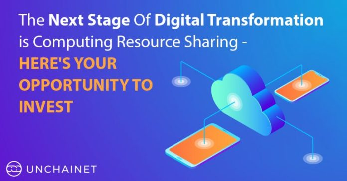 The Next Stage Of Digital Transformation Is Computing Resource Sharing- Here's Your Opportunity To Invest