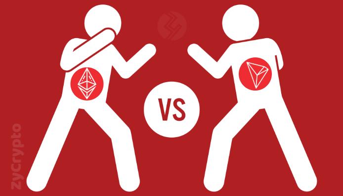 Tron (TRX) Vs Ethereum (ETH), Who's Winning this Battle ?