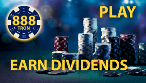 888 Tron: A Tron Network based Gaming Platform that allows to Play, Mine and Earn Dividends
