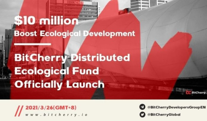 BitCherry Invests $10M in its Distributed Ecological Fund