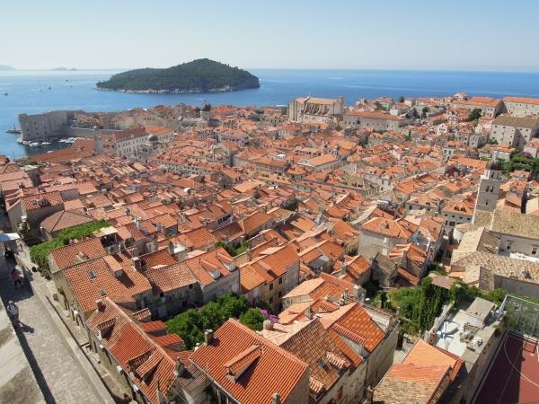 Dubrownik Stari Grad panorama