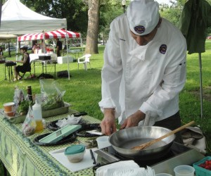 Tremont Farmers Market Cooking Demo