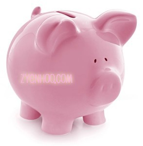 UPDATE: I'm not kidding, I really do want a piggy bank. But a nicer looking one of course, that would also serve as a conversation piece as it sits on my mantel. Reason: I have a retiremend fund I started which consists of only 50 sen coins (an idea I stole from Lydia), and the coin bank I'm using now is already very full. I need to start my second coin bank. And yes, I know, it's so sad that I've only just got one coin bank full. So if you give me one that's already full of (real) coins, it would be even better.