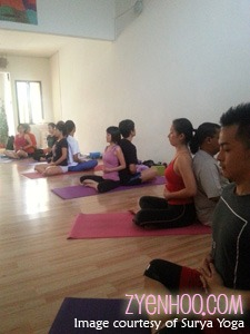 Starting with breathing exercises