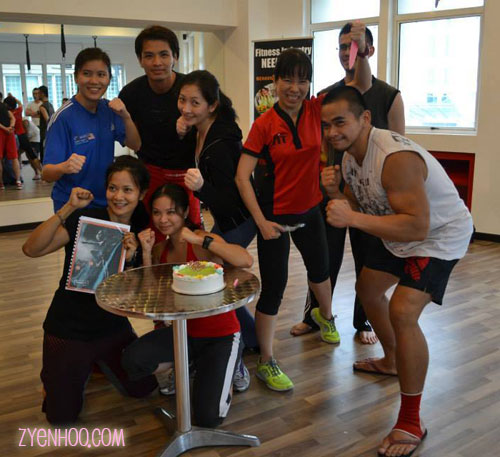 The first batch of Fight FX instructors in Malaysia
