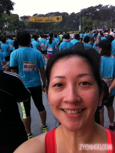 My Start Line selfie