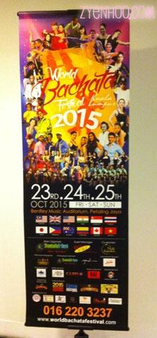 World Bachata Festival bunting