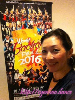 Me at the World Bachata Festival!
