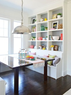Adorable Family Dining Room Decorating Ideas 29