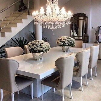 Adorable Family Dining Room Decorating Ideas 46