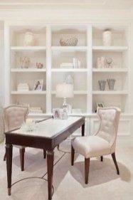 Cozy And Elegant Office Décor Ideas 04