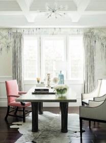 Cozy And Elegant Office Décor Ideas 05