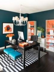 Cozy And Elegant Office Décor Ideas 15