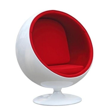 Cozy Ball Chair Design Ideas 12
