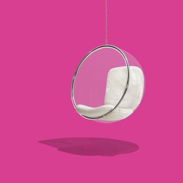 Cozy Ball Chair Design Ideas 13