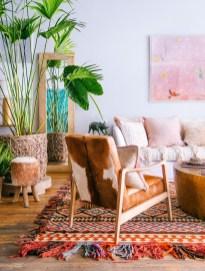 Cozy Bohemian Living Room Design Ideas 05