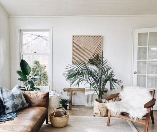 Cozy Bohemian Living Room Design Ideas 23