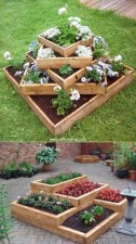 Cozy Decorative Garden Planters Design Ideas 11