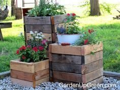 Cozy Decorative Garden Planters Design Ideas 12