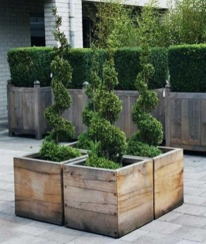 Cozy Decorative Garden Planters Design Ideas 14