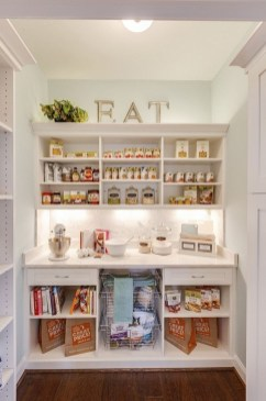 Cozy Kitchen Pantry Designs Ideas 07