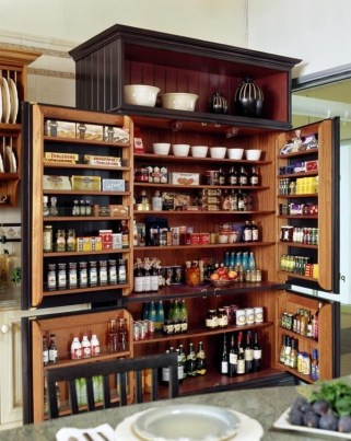 Cozy Kitchen Pantry Designs Ideas 17