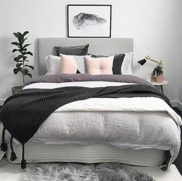 Cozy Minimalist Bedroom Design Trends Ideas 35