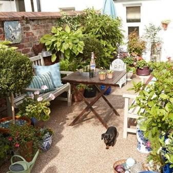 Creative DIY Patio Gardens Ideas On A Budget 06
