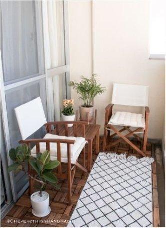 Creative Diy Small Apartment Balcony Garden Ideas 19
