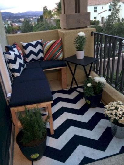 Creative Diy Small Apartment Balcony Garden Ideas 30