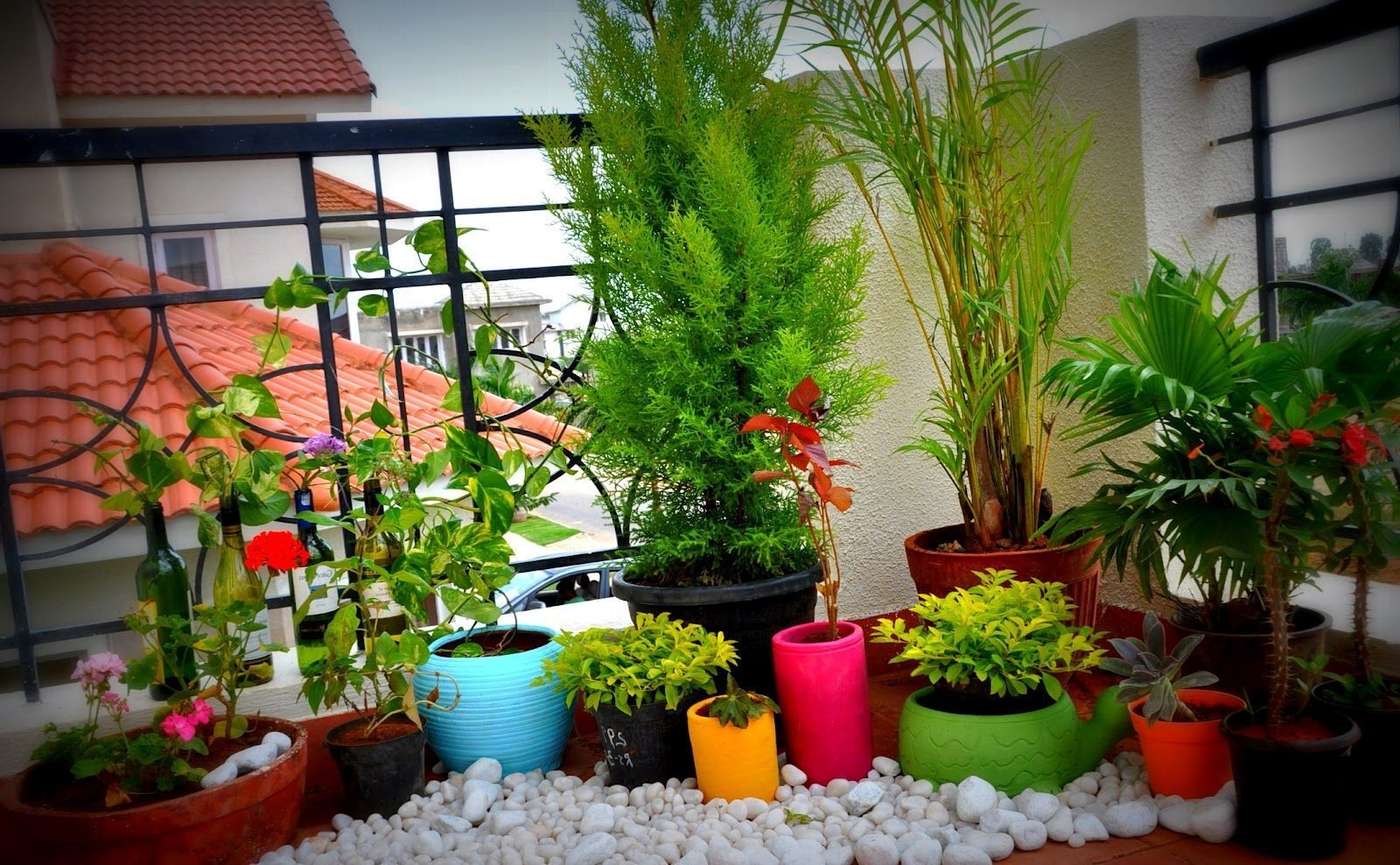 41 Creative Diy Small Apartment Balcony Garden Ideas - ZYHOMY