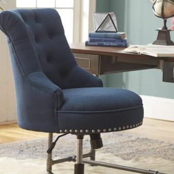 Elegant Blue Office Decor Ideas 07
