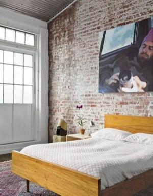 Elegant Exposed Brick Apartment Décor Ideas 06