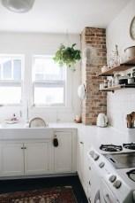 Elegant Exposed Brick Apartment Décor Ideas 26