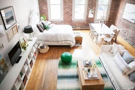 Elegant Exposed Brick Apartment Décor Ideas 27