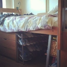 Genius Dorm Room Space Saving Storage Ideas 08