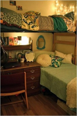 Genius Dorm Room Space Saving Storage Ideas 26